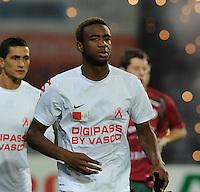 KV Kortrijk : Ilombe Mboyo.foto VDB / BART VANDENBROUCKE