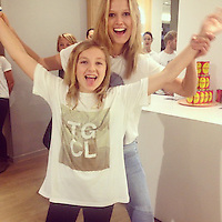 Toni Garrn has posted a photo on Instagram with the following remarks:<br /> Nr 1 supporter of the day!! Danke Maus!! #YouAndMeGirl @closedofficial #planinternational #Storeevent #Hamburg <br /> Instagram, 2014-11-07 10:54:32. <br /> Photo supplied by insight media<br /> <br /> This is a private photo posted on social networks and supplied by this Agency. This Agency does not claim any ownership including but not limited to copyright or license in the attached material. Fees charged by this Agency are for Agency's services only, and do not, nor are they intended to, convey to the user any ownership of copyright or license in the material. By publishing this material you expressly agree to indemnify and to hold this Agency and its directors, shareholders and employees harmless from any loss, claims, damages, demands, expenses (including legal fees), or any causes of action or allegation against this Agency arising out of or connected in any way with publication of the material.