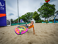 Den Bosch, Netherlands, 14 June, 2018, Tennis, Libema Open, Beach tennis<br /> Photo: Henk Koster/tennisimages.com