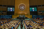 General Assembly Seventy-third session, 14th plenary meeting<br /> <br /> <br /> His Excellency Walid AL-MOUALEMDeputy Prime Minister, Minister for Foreign Affairs and Expatriates of theSyrian Arab Republic