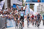 Mark Cavendish (GBR) Etixx-Quick Step wins Stage 7 of the 2015 Presidential Tour of Turkey running 166km from Selcuk to Izmir. 2nd May 2015.<br /> Photo: Tour of Turkey/Brian Hodes/www.newsfile.ie