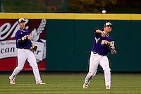 Dan Dispensa (6) of the Western Illinois Leathernecks during a game vs. the Missouri State Bears at Hammons Field in Springfield, Missouri;  March 18, 2011.  Photo By David Welker/Four Seam Images