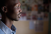 Wilson Kipsang, Kenyan marathon runner in Iten, Kenya.