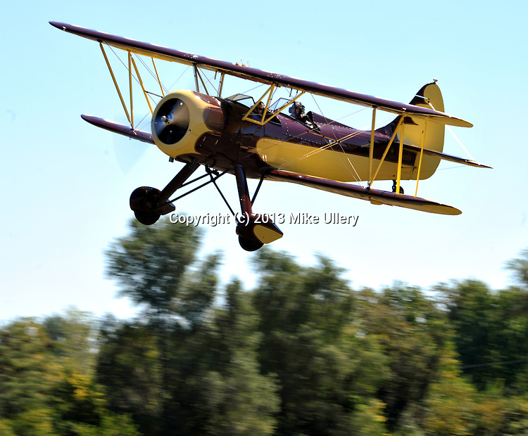The annual WACO Fly-In, at Historic WACO Field in Troy, Ohio on September 14, 2013.