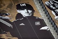 LOS ANGELES, CA - OCTOBER 25: Bob Bradley head coach of the Los Angeles FC during a game between Los Angeles Galaxy and Los Angeles FC at Banc of California Stadium on October 25, 2020 in Los Angeles, California.