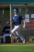 Villanova Wildcats second baseman Todd Czinege (9) during a game against the Dartmouth Big Green on February 27, 2016 at South Charlotte Regional Park in Punta Gorda, Florida.  Villanova defeated Dartmouth 14-1.  (Mike Janes/Four Seam Images)