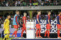 CHICAGO, ILLINOIS - JULY 07: The USMNT receive their second place medals during the 2019 CONCACAF Gold Cup Final match between the United States and Mexico at Soldier Field on July 07, 2019 in Chicago, Illinois.