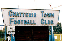 West Street, home of Chatteris Town Football Club (Cambridgeshire), pictured circa 1994 - Gavin Ellis/TGSPHOTO - Self billing applies where appropriate - 0845 094 6026 - contact@tgsphoto.co.uk - NO UNPAID USE.