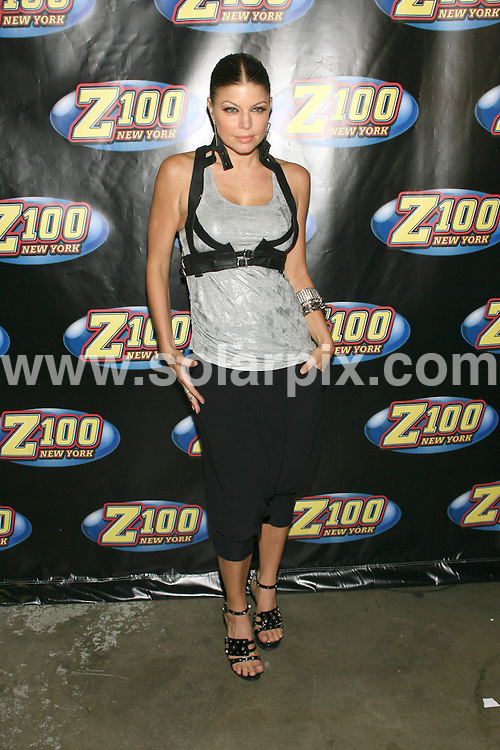 **ALL ROUND PICTURES FROM SOLARPIX.COM**.**SYNDICATION RIGHTS FOR UK, AUSTRALIA, DENMARK, PORTUGAL, S. AFRICA, SPAIN & DUBAI (U.A.E) ONLY**.arrivals for Z100's Zootopia '09. Held at The Izod Center, New York City, NY, USA. 16 May 2009..This pic: Fergie..JOB REF: 9029 PHZ (Gaboury)   DATE: 16_05_2009.**MUST CREDIT SOLARPIX.COM OR DOUBLE FEE WILL BE CHARGED**.**ONLINE USAGE FEE GBP 50.00 PER PICTURE - NOTIFICATION OF USAGE TO PHOTO @ SOLARPIX.COM**.**CALL SOLARPIX : +34 952 811 768 or LOW RATE FROM UK 0844 617 7637**