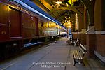 Train Station at Night, Jim Thorpe, PA