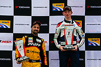 Porsche GT3 Cup Challenge Canada<br /> Victoria Day SpeedFest Weekend<br /> Canadian Tire Motorsport Park, Mosport, ON CAN<br /> Sunday 21 May 2017<br /> IMSA GT3 CUP CANADA, Race 2, Gold Podium<br /> World Copyright: Jake Galstad<br /> LAT Images<br /> ref: Digital Image galstad-CTMP-0517-55466