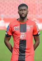 13th November 2020; Stade Gaston Gérard, Dijon, France; Dijon FC official portrait pictyres for season 2020-21, League 1;  Coulibaly