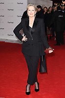 """Meryl Streep<br /> arriving for the European premiere of """"The Post"""" at the Odeon Leicester Square, London<br /> <br /> <br /> ©Ash Knotek  D3368  10/01/2018"""