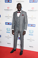 Mamadou Sakho<br /> arriving for the Football for Peace initiative dinner by Global Gift Foundation at the Corinthia Hotel, London<br /> <br /> ©Ash Knotek  D3493  08/04/2019