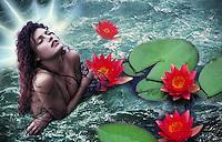 Mermaid - 1 - Fanasy Glamour Art