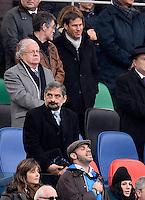 Rudy Garcia, allenatore della AS Roma<br /> Roma 23-11-2013, Stadio Olimpico. Cariparma Rugby Test Match - Italia vs Argentina - Foto Antonietta BaldassarreInsidefoto