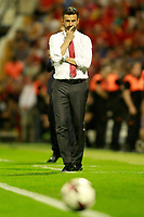 Albania's coach Christian Panucci during FIFA World Cup 2018 Qualifying Round match. October 6,2017.(ALTERPHOTOS/Acero) /NortePhoto.com /NortePhoto.com