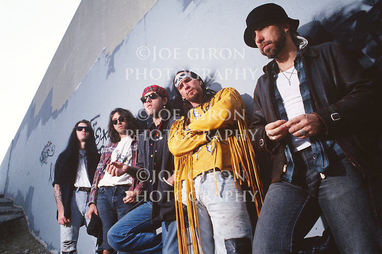 Various portrait sessions of the rock band, Circus of Power