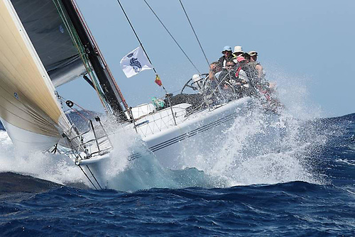 Venomous, the Carroll Marine 60 which is the largest yacht racing in IRC Zero | Credit: Tim Wright/RORC