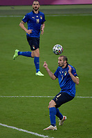 Giorgio Chiellini of Italy in action during the Uefa Euro 2020 Final football match between Italy and England at Wembley stadium in London (England), July 11th, 2021. Photo Andrea Staccioli / Insidefoto
