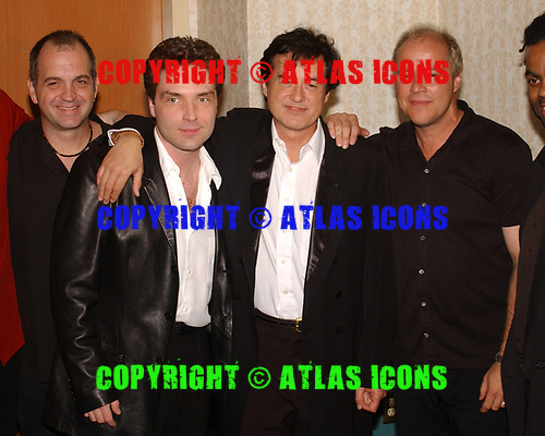 FORT LAUDERDALE FL - MAY 08: RRichard Marx and Jimmy Page attend the Brazilian children's charity event held at the Fort Lauderdale Marriott on May 8, 2002 in Fort Lauderdale, Florida. : Credit Larry Marano © 2002