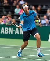 12-02-14, Netherlands,Rotterdam,Ahoy, ABNAMROWTT, Thiemo de Bakker(NED) <br /> Photo:Tennisimages/Henk Koster