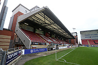 General view of the South Stand during Leyton Orient vs Harrogate Town, Sky Bet EFL League 2 Football at The Breyer Group Stadium on 21st November 2020