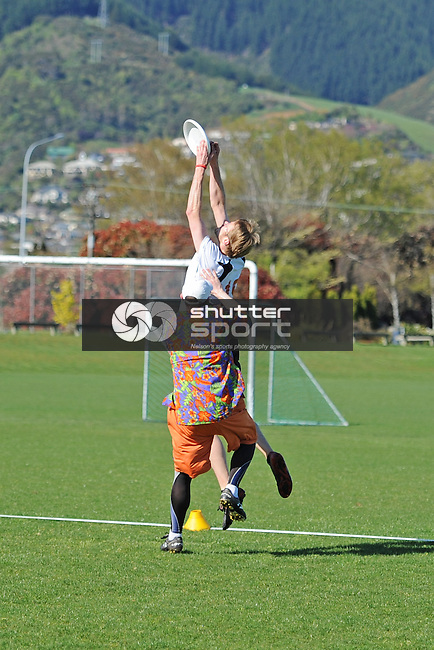 Ultimate frisbee at the South Island Masters Games, Nelson New Zealand, 15-23 October, 16 October