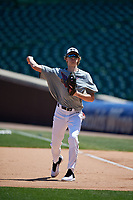 Andrew Casey during the Under Armour All-America Game, powered by Baseball Factory, on July 22, 2019 at Wrigley Field in Chicago, Illinois.  (Mike Janes/Four Seam Images)