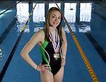 Cloverleaf's Addy Ferguson is the 2009-10 Gazette girls swimming MVP. (RON SCHWANE / GAZETTE)