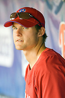 Marson, Lou 8137.jpg. Minnesota Twins at Philadelphia Phillies. Spring Training Game. Saturday March 21st, 2009 in Clearwater, Florida. Photo by Andrew Woolley.