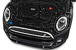 Car Stock 2017 MINI Cooper S 2 Door Convertible Engine  high angle detail view