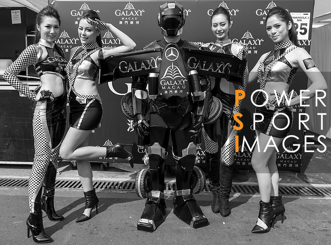 Competitors of Galaxy Macao Team during the 60th GP Macao on November 16, 2013 at Macao street circuit in Macao, China. Photo by Andy Jones / The Power of Sport Images