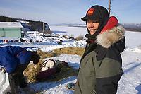 Wells Fargo Teacher on the Trail Terrie Henke views life in Ruby Alaska during 2006 Iditarod Alaska Winter
