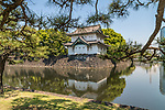 The Tokyo Imperial Palace in Japan. It is the primary residence of the Emperor of Japan.