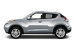 Driver side profile view of a 2015 Nissan Juke SL
