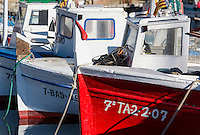 Fishing boats, Palamos, Spain