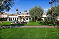 Stock photo of Frank Capra's A. Quincy Jones designed mid-century home in La Quinta, California