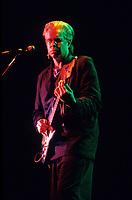 Montreal (Qc) CANADA - File Photo - Circa 1986 - Bruce Cockburn in concert at Montreal Spectrum.