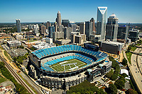 Charlotte North Carolina Aerial Skyline