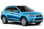 Front passenger side view of a 2011 Mitsubishi Outlander Sport SE