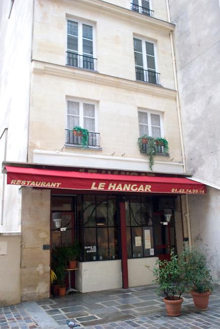 Exterior, Le Hanger Restaurant, Paris, France, Europe
