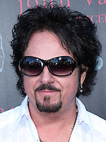 WEST HOLLYWOOD, CA, USA - SEPTEMBER 21: Steve Lukather arrives at the John Varvatos #PeaceRocks Ringo Starr Private Concert held at the John Varvatos Boutique on September 21, 2014 in West Hollywood, California, United States. (Photo by Xavier Collin/Celebrity Monitor)