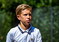 Hilversum, Netherlands, Juli 29, 2019, Tulip Tennis center, National Junior Tennis Championships 12 and 14 years, NJK, Thijs Boogaard (NED)<br /> Photo: Tennisimages/Henk Koster