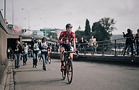 Tim Wellens (Lotto-Soudal) rode in support of teammate Andre Greipel, who finished third<br /> <br /> 104th Tour de France 2017<br /> Stage 2 - Düsseldorf › Liège (203.5km)
