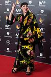 Rossy de Palma attends red carpet of Feroz Awards 2018 at Magarinos Complex in Madrid, Spain. January 22, 2018. (ALTERPHOTOS/Borja B.Hojas)