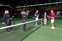 ABN AMRO World Tennis Tournament, Rotterdam, The Netherlands, 17 Februari, 2017, Tomas Berdych (CZE), Martin Klizan (SVK)<br /> Photo: Henk Koster