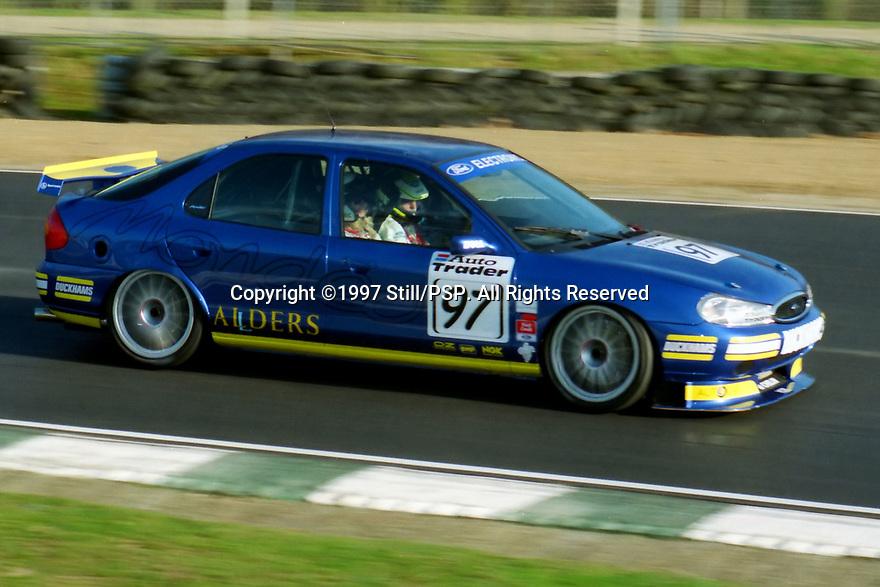 British Touring Car Championship Media day. Team Mondeo. Ford Mondeo.