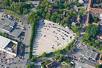Frascatiplatz: EUROPA, DEUTSCHLAND, HAMBURG, BERGEDORF (EUROPE, GERMANY), 9.05.2020: Frascatiplatz