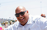DEL MAR, CA  JULY 16: Happy Race Goer. (Photo by Casey Phillips/ Eclipse Sportswire/CSM)